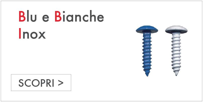 BLU E BIANCHE INOX