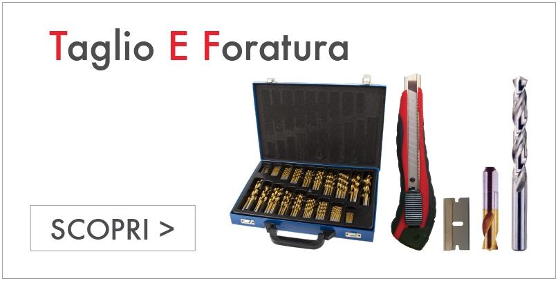 TAGLIO E FORATURA